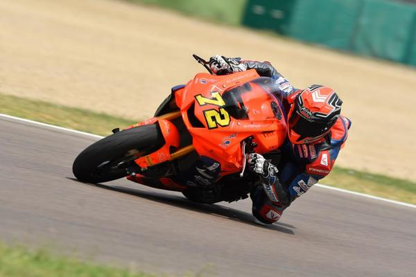 CIV Supersport 600 Imola Alessio Finello team Terra e Moto