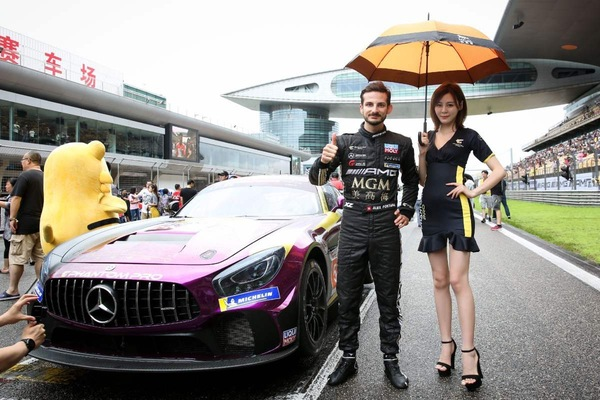China GT Championship Alex Fontana in vetta alla classifica