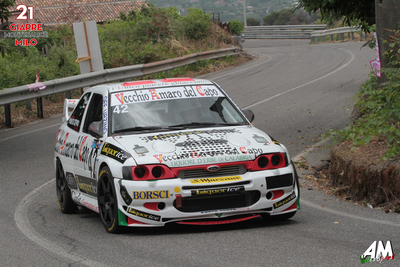 Porto Cervo Racing a podio con Ennio Donato Ford Escort Cosworth