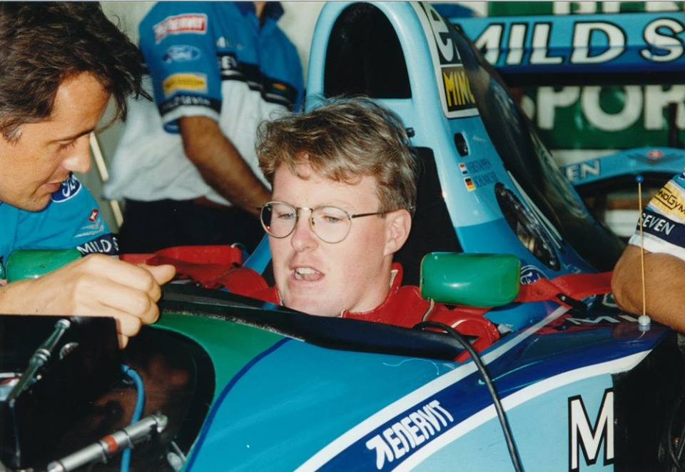 Test Benetton F1 Paul Tracy