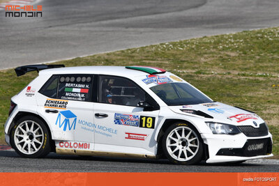 Michele Mondin Skoda Fabia R5 Colombi Racing Team Adria Rally Show