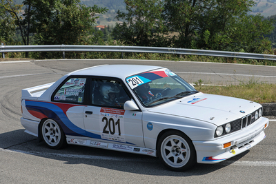JOLLY RACING TEAM E BRUNERO GUARDUCCI SUL PODIO  DEL RALLY HISTORIC DI SALSOMAGGIORE TERME