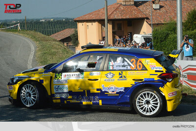 Rally Porta del Gargano Massimiliano Santoro Volkswagen Polo R5 Step Five Motorsport